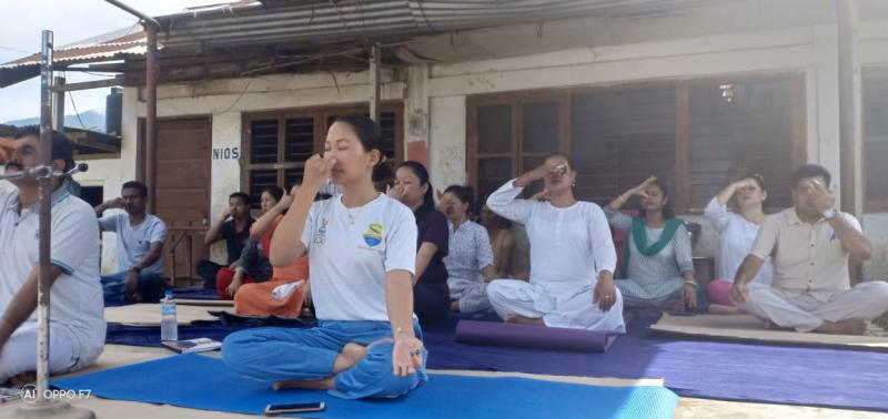 International Day Of Yoga June 2019